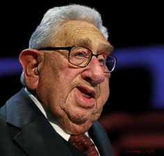 Henry Kissinger by RodneyPike
