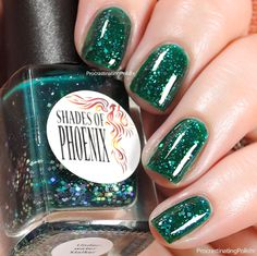 The Procrastinating Polishr: Swatches & Review: Shades of Phoenix Vintage Horror Halloween Duo