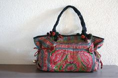 I like these boho bags from Thailand!