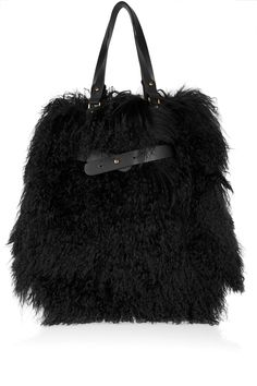 52c0275c28c9 Christian Louboutin - Sybil reversible shearling and leather tote
