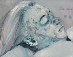 "Marlene Dumas' ""Dead Marilyn"""
