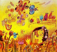 josef palecek illustration - Google Search
