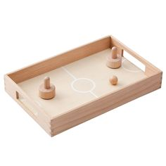 muji | wooden table hockey