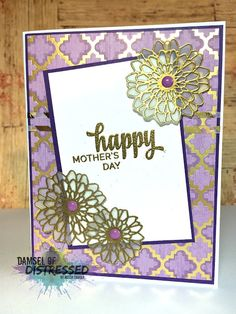 Embossed Elegant Mother's Day Card