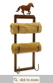 Horse Towel Holder