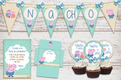 Kits imprimibles para cumpleaños | Elita Kits Digitales: Kit ...