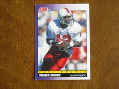 Shawn Moore Denver Broncos Quarterback Card No. 577 (FB577) 1991 Score Football Card - for sale at Wenzel Thrifty Nickel ecrater store