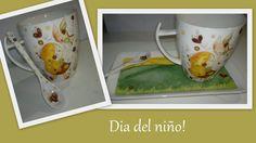 Desayunadores - Pintura sobre porcelana Rasgo Encantado