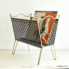Brass Magazine Or Towel Rack Mid Mod Love Magazines Century Modern And Racks