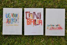 colección de libros by iziar ordoqui, via Behance