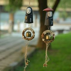 Japanese kawaii cartoon wind chimes