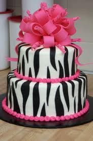 Zebra Cake ideas for Amanda