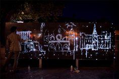 Antonin Fourneau et Artlab Digitalarti // Water Light Graffiti