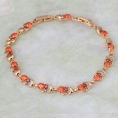 Find More Charm Bracelets Information about New 2016 Brand designer garnet Bracelets for lady 18K Yellow Gold Bracelet , Fashion Jewelry 20cm 7.87 inch B250 Free shipping,High Quality bracelet summer,China bracelet crystal Suppliers, Cheap bracelet rhinestone from Dana Jewelry Co., Ltd. on Aliexpress.com