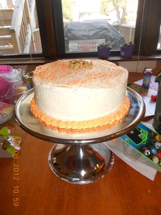 Carrot cake for Barb :)