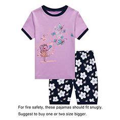 Cotton ,Soft, cute Machine wash cold inside out Sleep set includes sleep tee and matching sleep bottoms. Amazon Codes, Sleep Set, Pajama Shorts, Discount Shopping, Summer Girls, Snug Fit, Pajama Set, Kids Outfits, Coding