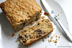 Oatmeal Chocolate Chip Quick Bread   Persnickety Plates