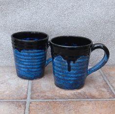 Latte mug .... wheel thrown stoneware pottery