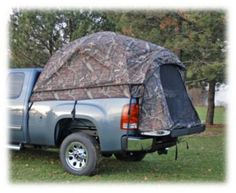 Napier Sportz Camo Truck Tent - Mossy Oak Break-Up Infinity - Fits Full Crew Cab Bed Truck Camping, Diy Camping, Family Camping, Camping Hacks, Camping Gear, Outdoor Camping, Camping Supplies, Minivan Camping, Camping Trailers