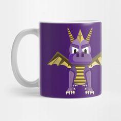 Vector Spyro the dragoon mug