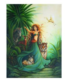 Gaia, mother and goddess of the earth