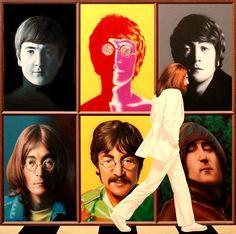 John Lennon fan art. | #johnlennon #thebeatles #imagine