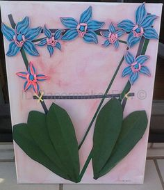 Paper - Quilling - Orchids