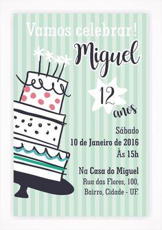 Convite Digital Aniversário 04