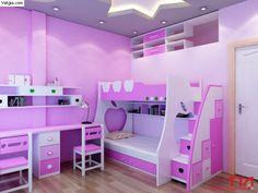 Bunk Bed Designs, Kids Bedroom Designs, Room Design Bedroom, Small Room Bedroom, Home Room Design, Bed For Girls Room, Girl Room, Girls Bedroom, Diy Bedroom Decor For Teens