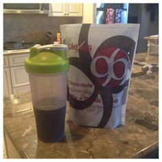 Having my first Plexus 96 Protein Shake this morning for breakfast and it is yummy!  Just another great product Plexus is making!  #plexus96 #plexusfreedom #plexusenergy   www.plexusslim.com/robinmccartney  Ambassador #207217