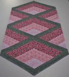 Resultado de imagem para table runner pineapple quilt
