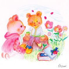 Bear in the spring
