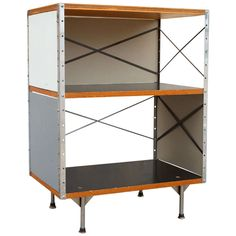 ESU 251-C by Charles and Ray Eames for Herman Miller   From a unique collection of antique and modern night stands at https://www.1stdibs.com/furniture/tables/night-stands/