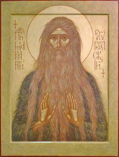 St Macarius of Egypt by Irina Zaron