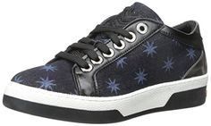 Love Moschino Womens Midnight Sky Fashion Sneaker Blue 40 EU10 M US ** Read more reviews of the product by visiting the link on the image.