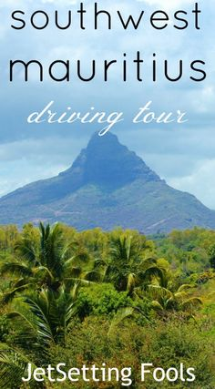 While we could have spent every day of our two weeks in Flic en Flac, Mauritius on the beach, we had an urge to see what was beyond the coastline. The distant mountains covered in lush vegetation beckoned us for a visit. Finding a southwest Mauritius tour because a priority.