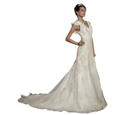 Whatabeautifullife Women's V-Neck Satin Organza Appliques Chapel A-line Bridal Gown Size 26W Color White Whatabeautifullife,http://www.amazon.com/dp/B00CECMVZE/ref=cm_sw_r_pi_dp_2iedsb052F4413VX