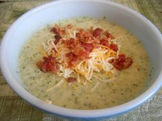 Shrimp Broccoli & Cheese Soup, an easy homemade soup recipe that is ready in no time and perfect for a quick lunch or dinner.