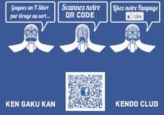 Facebook QR Code. KEN GAKU KAN by Jihane Chartier, via Behance