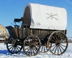 1878 4-Mule Army Escort Wagon