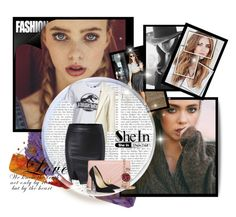 """SheIn contest"" by emina-393 ❤ liked on Polyvore featuring Cushnie Et Ochs, New Look, Tory Burch, Jimmy Choo and Michael Kors"