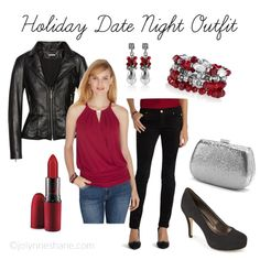Holiday Outfit Ideas: What To Wear for a Holiday Date Night for Women Over 40 featuring Rack Room Shoes