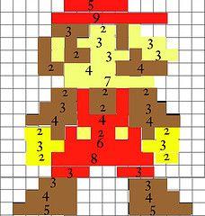 Mario Quilt Block