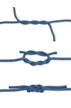 How to tie a Surgeons Knot
