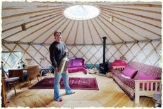 1 week (7 nights) in 18 ft yurt gert with wood burner - lake windermere -  lake district cumbria