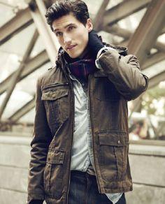 Layer up! Guess #mens #jacket #hood #macys BUY NOW!