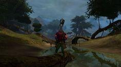 Guild Wars 2 screenshot photobomb  https://twitter.com/TomDavenport93/status/301435587880161281/photo/1#