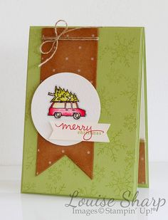 By Louise Sharp | INKspired Artists Sketch Blog Hop 1 - White Christmas | Stampin' Up!