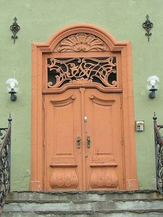 Door in Oslo, Norway