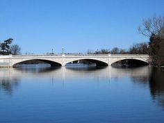 Parkhill Road Bridge over Otonabee River, near Inverlea Park Peterborough Ontario, Canada, River, Park, Architecture, Bridges, City, Places, Memories